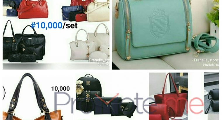 Order your beautiful quality leather handbags at affordable prices @Franelle_stores