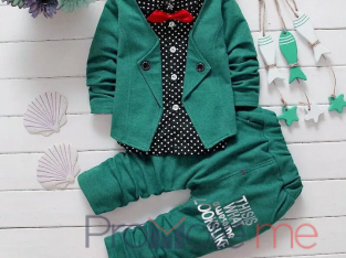 Boys 2pcs jacket top and trouser