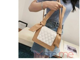 Double strapped bag