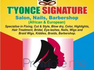 T'yonce – Signature salon & Barbershop