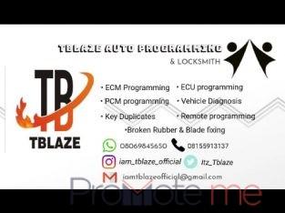 Tblaze Auto programming & Locksmith